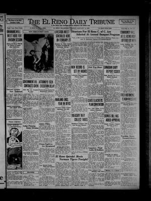 Primary view of object titled 'The El Reno Daily Tribune (El Reno, Okla.), Vol. 44, No. 271, Ed. 1 Tuesday, January 14, 1936'.