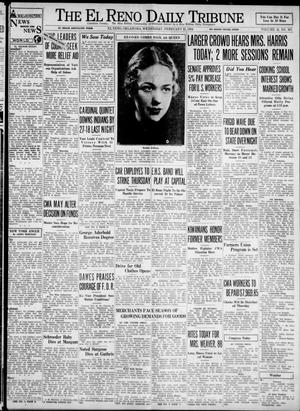 Primary view of object titled 'The El Reno Daily Tribune (El Reno, Okla.), Vol. 42, No. 303, Ed. 1 Wednesday, February 21, 1934'.