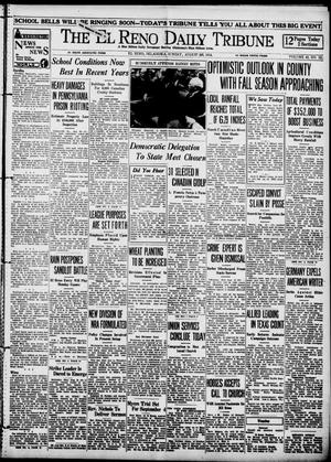 Primary view of object titled 'The El Reno Daily Tribune (El Reno, Okla.), Vol. 43, No. 121, Ed. 1 Sunday, August 26, 1934'.