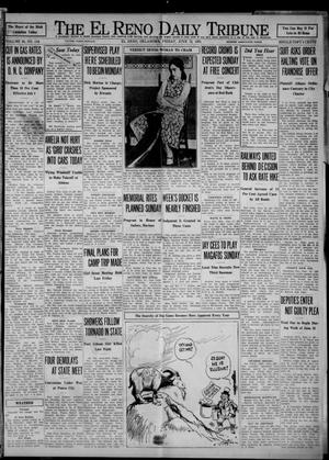 Primary view of object titled 'The El Reno Daily Tribune (El Reno, Okla.), Vol. 40, No. 114, Ed. 1 Friday, June 12, 1931'.