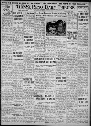 Primary view of object titled 'The El Reno Daily Tribune (El Reno, Okla.), Vol. 42, No. 52, Ed. 1 Monday, April 3, 1933'.