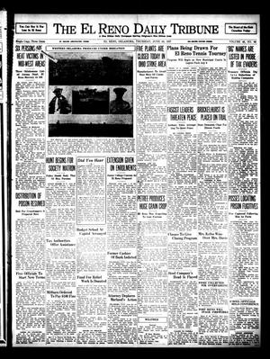 Primary view of object titled 'The El Reno Daily Tribune (El Reno, Okla.), Vol. 46, No. 96, Ed. 1 Thursday, June 24, 1937'.