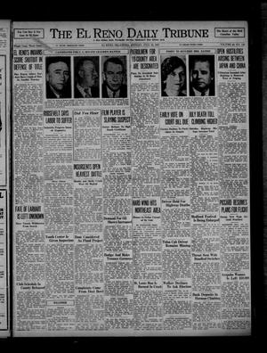 Primary view of object titled 'The El Reno Daily Tribune (El Reno, Okla.), Vol. 46, No. 116, Ed. 1 Monday, July 19, 1937'.
