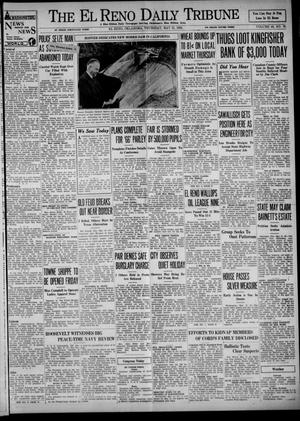 Primary view of object titled 'The El Reno Daily Tribune (El Reno, Okla.), Vol. 43, No. 76, Ed. 1 Thursday, May 31, 1934'.