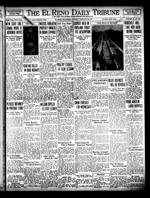 Primary view of object titled 'The El Reno Daily Tribune (El Reno, Okla.), Vol. 45, No. 274, Ed. 1 Tuesday, January 19, 1937'.