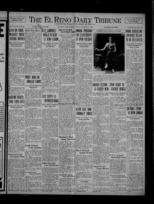 Primary view of object titled 'The El Reno Daily Tribune (El Reno, Okla.), Vol. 45, No. 141, Ed. 1 Friday, August 14, 1936'.