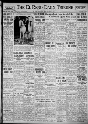 Primary view of object titled 'The El Reno Daily Tribune (El Reno, Okla.), Vol. 44, No. 9, Ed. 1 Sunday, April 28, 1935'.