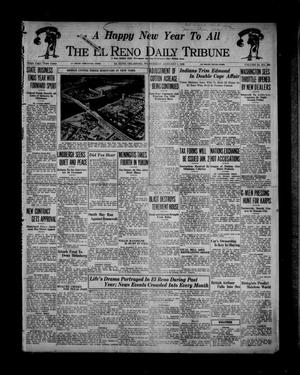 Primary view of object titled 'The El Reno Daily Tribune (El Reno, Okla.), Vol. 44, No. 260, Ed. 1 Wednesday, January 1, 1936'.