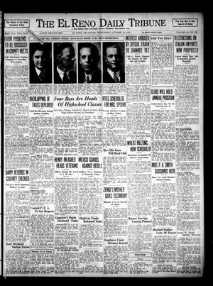 Primary view of object titled 'The El Reno Daily Tribune (El Reno, Okla.), Vol. 44, No. 195, Ed. 1 Wednesday, October 16, 1935'.