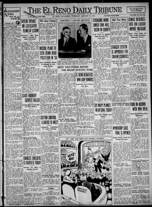 Primary view of object titled 'The El Reno Daily Tribune (El Reno, Okla.), Vol. 42, No. 269, Ed. 1 Thursday, January 11, 1934'.