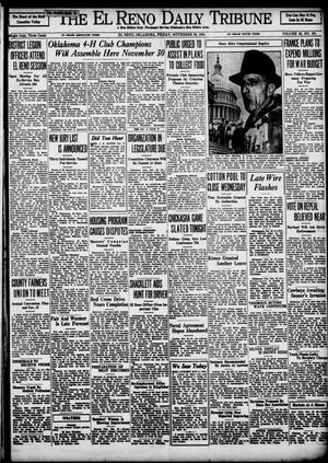 Primary view of object titled 'The El Reno Daily Tribune (El Reno, Okla.), Vol. 43, No. 191, Ed. 1 Friday, November 23, 1934'.