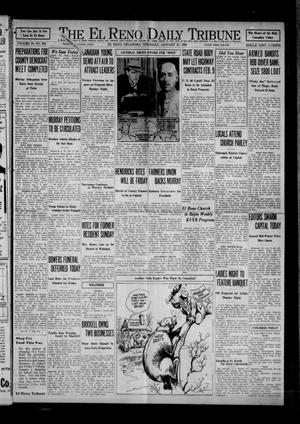 Primary view of object titled 'The El Reno Daily Tribune (El Reno, Okla.), Vol. 40, No. 304, Ed. 1 Thursday, January 21, 1932'.