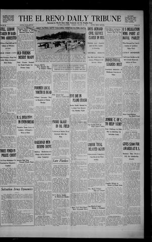 Primary view of object titled 'The El Reno Daily Tribune (El Reno, Okla.), Vol. 38, No. 96, Ed. 1 Tuesday, January 28, 1930'.