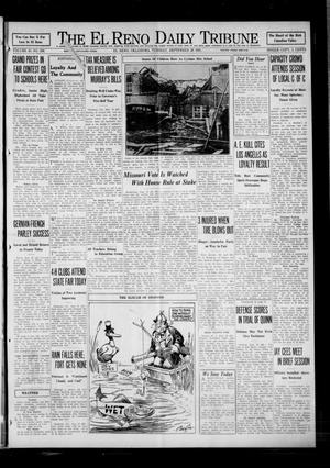 Primary view of object titled 'The El Reno Daily Tribune (El Reno, Okla.), Vol. 40, No. 206, Ed. 1 Tuesday, September 29, 1931'.