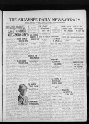 Primary view of object titled 'The Shawnee Daily News-Herald (Shawnee, Okla.), Vol. 17, No. 233, Ed. 1 Saturday, May 24, 1913'.