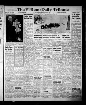 Primary view of object titled 'The El Reno Daily Tribune (El Reno, Okla.), Vol. 57, No. 278, Ed. 1 Sunday, January 23, 1949'.