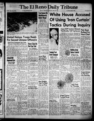 Primary view of object titled 'The El Reno Daily Tribune (El Reno, Okla.), Vol. 60, No. 66, Ed. 1 Wednesday, May 16, 1951'.