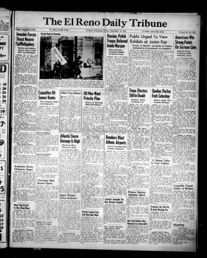 Primary view of object titled 'The El Reno Daily Tribune (El Reno, Okla.), Vol. 53, No. 169, Ed. 1 Friday, September 15, 1944'.