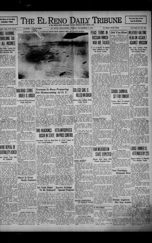 Primary view of object titled 'The El Reno Daily Tribune (El Reno, Okla.), Vol. 50, No. 215, Ed. 1 Friday, November 7, 1941'.