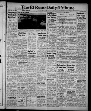 Primary view of The El Reno Daily Tribune (El Reno, Okla.), Vol. 56, No. 63, Ed. 1 Tuesday, May 13, 1947