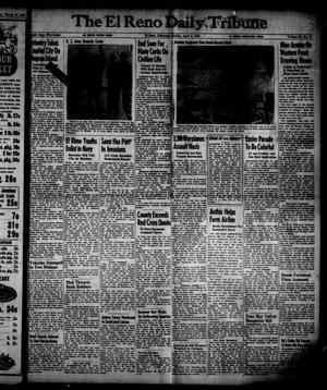 Primary view of object titled 'The El Reno Daily Tribune (El Reno, Okla.), Vol. 54, No. 27, Ed. 1 Sunday, April 1, 1945'.