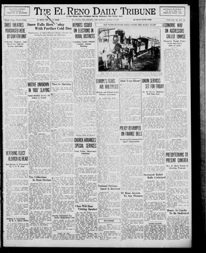 Primary view of object titled 'The El Reno Daily Tribune (El Reno, Okla.), Vol. 48, No. 36, Ed. 1 Thursday, April 6, 1939'.