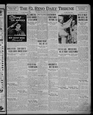Primary view of object titled 'The El Reno Daily Tribune (El Reno, Okla.), Vol. 50, No. 286, Ed. 1 Sunday, February 1, 1942'.