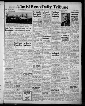 Primary view of object titled 'The El Reno Daily Tribune (El Reno, Okla.), Vol. 56, No. 39, Ed. 1 Tuesday, April 15, 1947'.