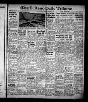 Primary view of object titled 'The El Reno Daily Tribune (El Reno, Okla.), Vol. 56, No. 168, Ed. 1 Tuesday, September 16, 1947'.