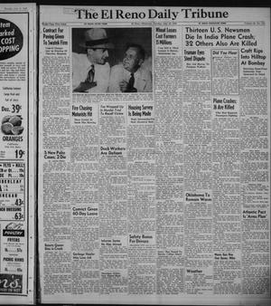 Primary view of object titled 'The El Reno Daily Tribune (El Reno, Okla.), Vol. 58, No. 113, Ed. 1 Tuesday, July 12, 1949'.