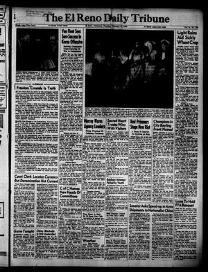 Primary view of object titled 'The El Reno Daily Tribune (El Reno, Okla.), Vol. 61, No. 294, Ed. 1 Tuesday, February 10, 1953'.