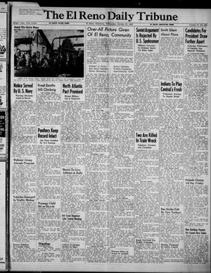 Primary view of object titled 'The El Reno Daily Tribune (El Reno, Okla.), Vol. 57, No. 204, Ed. 1 Wednesday, October 27, 1948'.