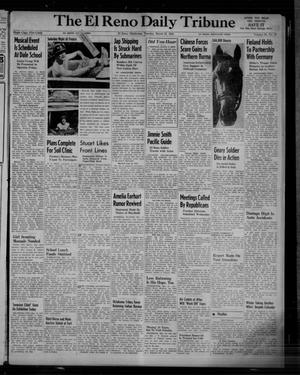 Primary view of object titled 'The El Reno Daily Tribune (El Reno, Okla.), Vol. 53, No. 18, Ed. 1 Tuesday, March 21, 1944'.