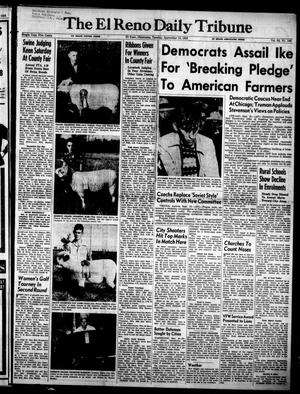 Primary view of object titled 'The El Reno Daily Tribune (El Reno, Okla.), Vol. 62, No. 169, Ed. 1 Tuesday, September 15, 1953'.