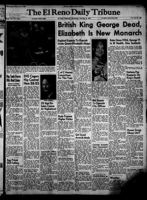 Primary view of object titled 'The El Reno Daily Tribune (El Reno, Okla.), Vol. 60, No. 290, Ed. 1 Wednesday, February 6, 1952'.