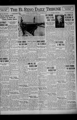 Primary view of object titled 'The El Reno Daily Tribune (El Reno, Okla.), Vol. 50, No. 200, Ed. 1 Tuesday, October 21, 1941'.