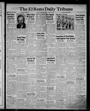 Primary view of object titled 'The El Reno Daily Tribune (El Reno, Okla.), Vol. 55, No. 277, Ed. 1 Monday, January 20, 1947'.