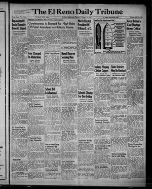 Primary view of object titled 'The El Reno Daily Tribune (El Reno, Okla.), Vol. 55, No. 296, Ed. 1 Tuesday, February 11, 1947'.