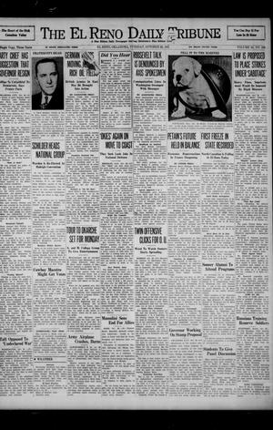 Primary view of object titled 'The El Reno Daily Tribune (El Reno, Okla.), Vol. 50, No. 206, Ed. 1 Tuesday, October 28, 1941'.