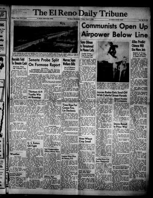Primary view of object titled 'The El Reno Daily Tribune (El Reno, Okla.), Vol. 60, No. 80, Ed. 1 Friday, June 1, 1951'.