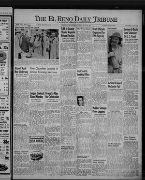 Primary view of object titled 'The El Reno Daily Tribune (El Reno, Okla.), Vol. 51, No. 103, Ed. 1 Sunday, June 28, 1942'.
