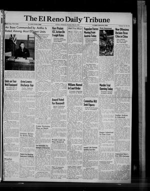 Primary view of object titled 'The El Reno Daily Tribune (El Reno, Okla.), Vol. 54, No. 70, Ed. 1 Monday, May 21, 1945'.