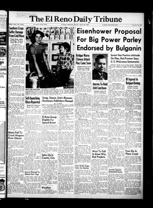 Primary view of object titled 'The El Reno Daily Tribune (El Reno, Okla.), Vol. 64, No. 23, Ed. 1 Sunday, March 27, 1955'.