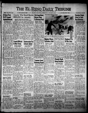 Primary view of object titled 'The El Reno Daily Tribune (El Reno, Okla.), Vol. 51, No. 264, Ed. 1 Wednesday, January 6, 1943'.