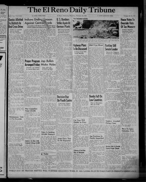 Primary view of object titled 'The El Reno Daily Tribune (El Reno, Okla.), Vol. 52, No. 307, Ed. 1 Thursday, February 24, 1944'.