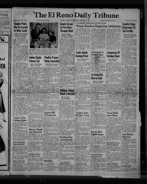 Primary view of object titled 'The El Reno Daily Tribune (El Reno, Okla.), Vol. 58, No. 305, Ed. 1 Wednesday, February 22, 1950'.