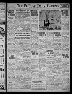 Primary view of object titled 'The El Reno Daily Tribune (El Reno, Okla.), Vol. 49, No. 282, Ed. 1 Friday, January 24, 1941'.