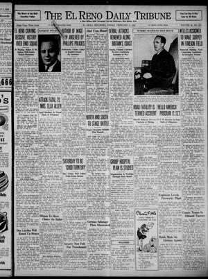 Primary view of object titled 'The El Reno Daily Tribune (El Reno, Okla.), Vol. 48, No. 298, Ed. 1 Friday, February 9, 1940'.