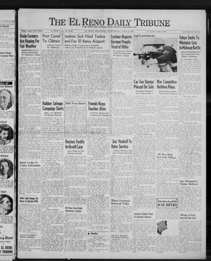 Primary view of object titled 'The El Reno Daily Tribune (El Reno, Okla.), Vol. 51, No. 88, Ed. 1 Wednesday, June 10, 1942'.