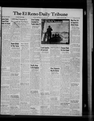 Primary view of object titled 'The El Reno Daily Tribune (El Reno, Okla.), Vol. 54, No. 80, Ed. 1 Friday, June 1, 1945'.